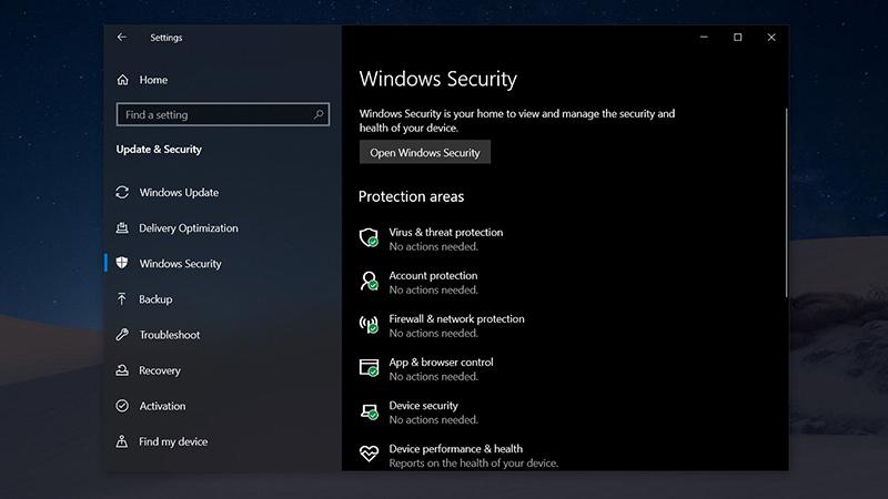 Win10 May 2020新安全功能保护电脑免遭不需要应用攻击的照片 - 1