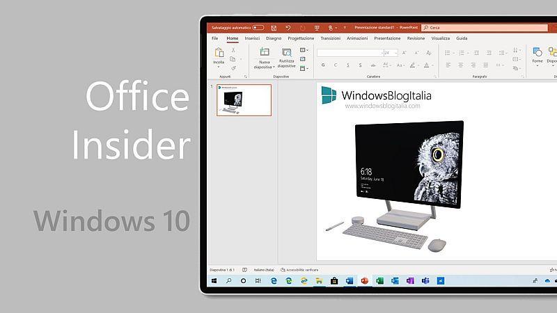 微软发布Office Insider Build 12827.20160更新