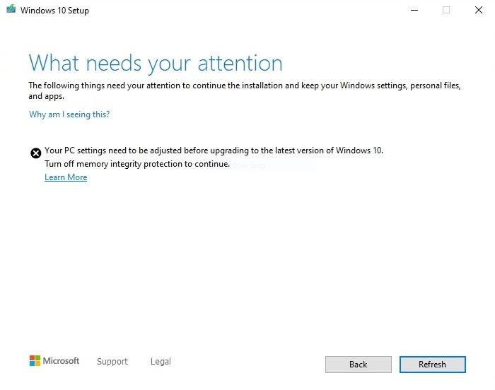 Windows安全应用程序或阻止Win10 2004的安装的照片 - 2