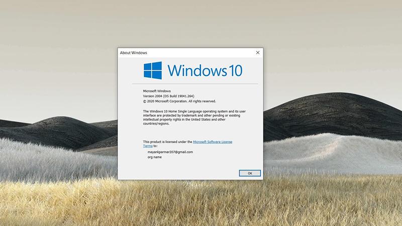 Win10 2020年5月更新导致DISM工具出现问题的照片