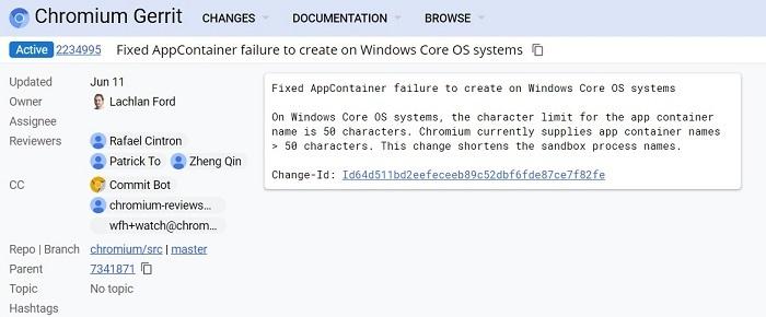 微软正在优化Windows Core OS上的Chromium使用体验的照片 - 2