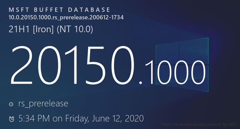 微软放出Win10 21H1功能更新首个ISO镜像下载链接的照片 - 1