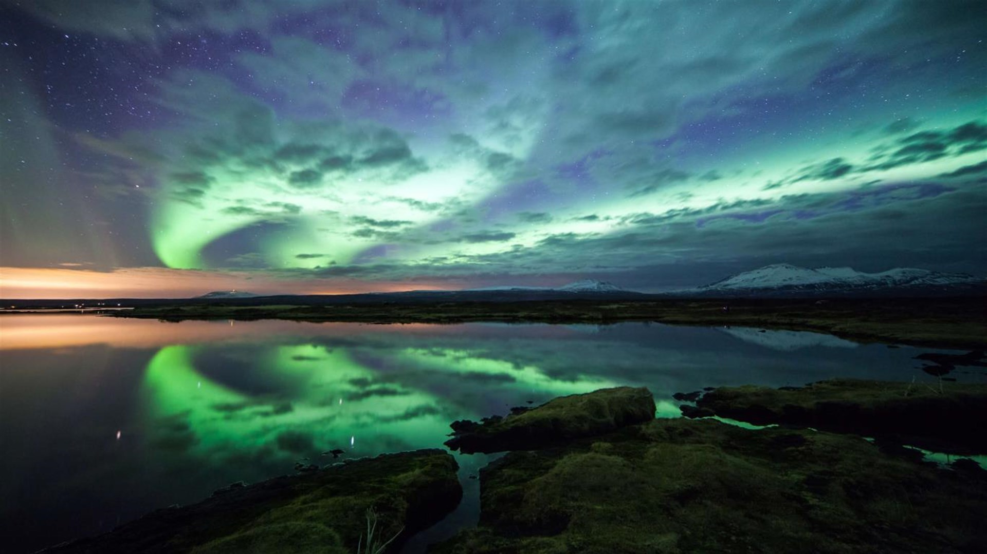 """绚丽的夜空,Win10"""" Night Skies""""4k免费主题的照片 - 4"""
