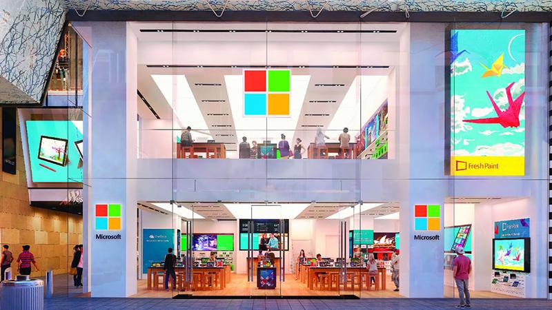 微软中国回应关闭实体直营店:中国市场不受影响的照片