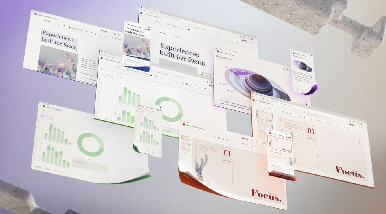 微软预告其Office未来用户界面