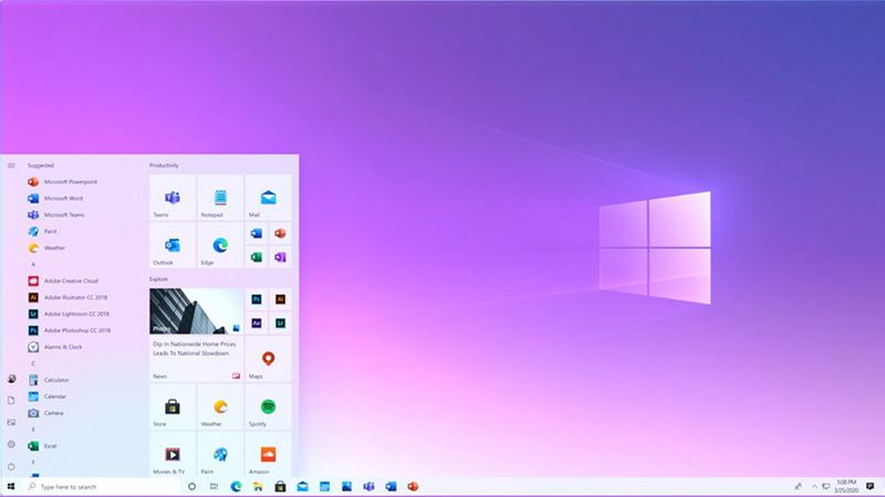 微软推送Win10 Build 19042.421测试版 引入新版开始菜单的照片 - 1