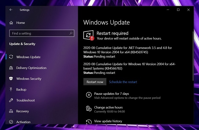 微软放出Win10 Build 19041.450离线下载安装包