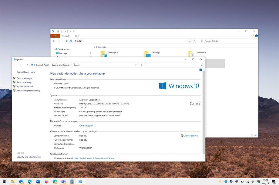 """Win10右键电脑属性将更改为设置应用""""关于""""界面的照片 - 1"""