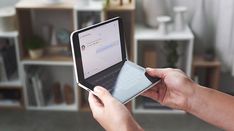 微软Surface Duo V2曝光:首次支持5G 补齐网络短板的照片