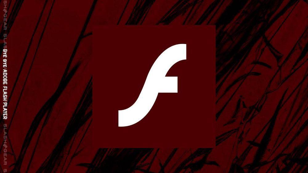 2021年Windows平台将和Adobe Flash Player彻底说再见的照片