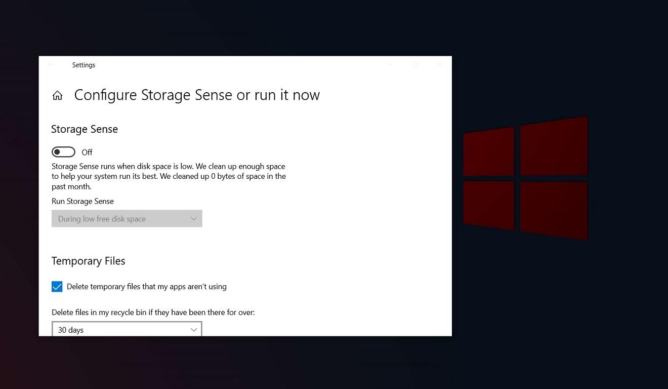 Win10 Storage Sense应用存档功能抢先看的照片 - 1