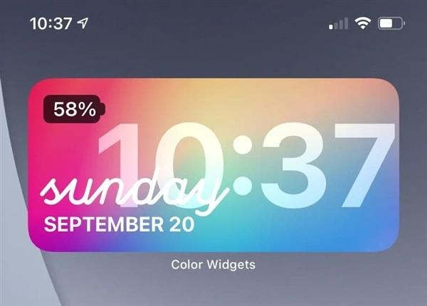 iOS 14支持小部件了 苹果用户花式秀桌面:会玩的照片 - 3