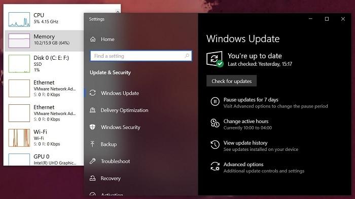 微软撤下了导致浏览器启动过慢的KB4559309累积更新的照片