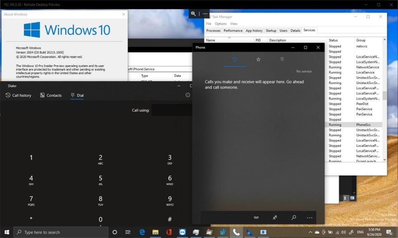 开发人员在手机上运行Win10 21H1 并实现了蜂窝网络支持