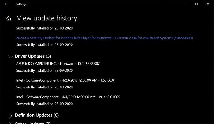 微软向Win10 v2004用户推送了本该避免的不合适驱动的照片 - 2