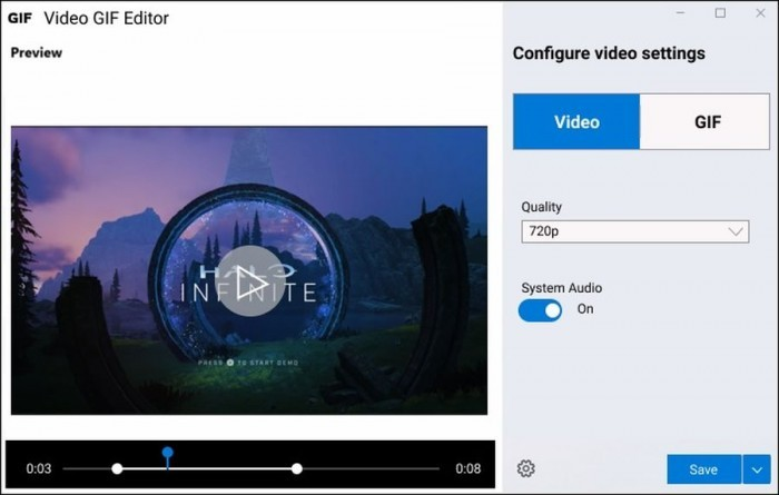 Win10即将获得轻量级视频录制/GIF编辑工具的照片 - 4