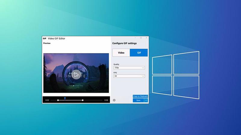 Win10即将获得轻量级视频录制/GIF编辑工具的照片 - 1