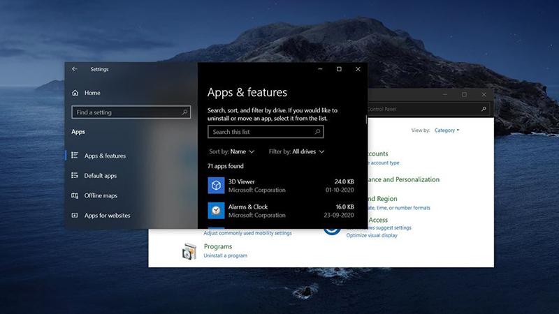 微软加速推进设置应用迁移工作 多项控制面板功能即将移除