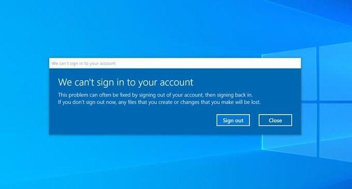 微软承认Win10 Build 20226存在登录问题 已展开调查的照片 - 2