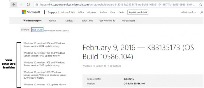 微软整合支持文档网站:优化Win 10更新日志的照片 - 4