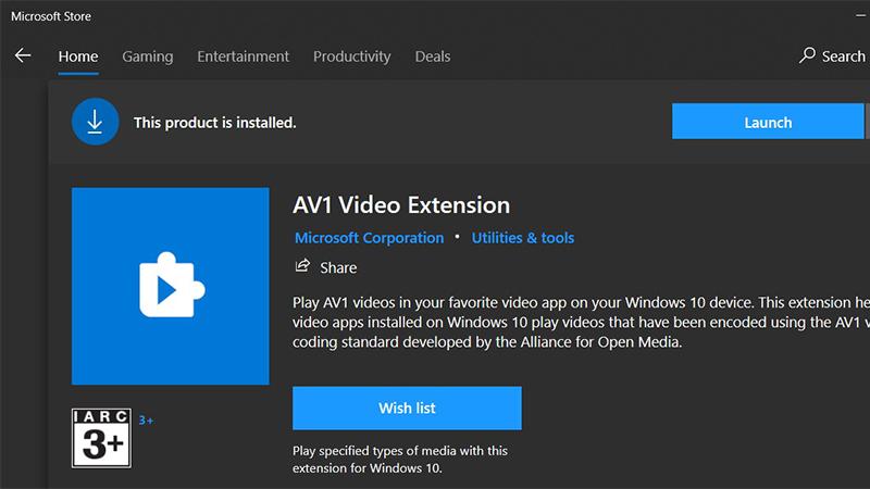 微软将在最新Win10系统中提供硬件加速AV1编解码器的照片 - 1