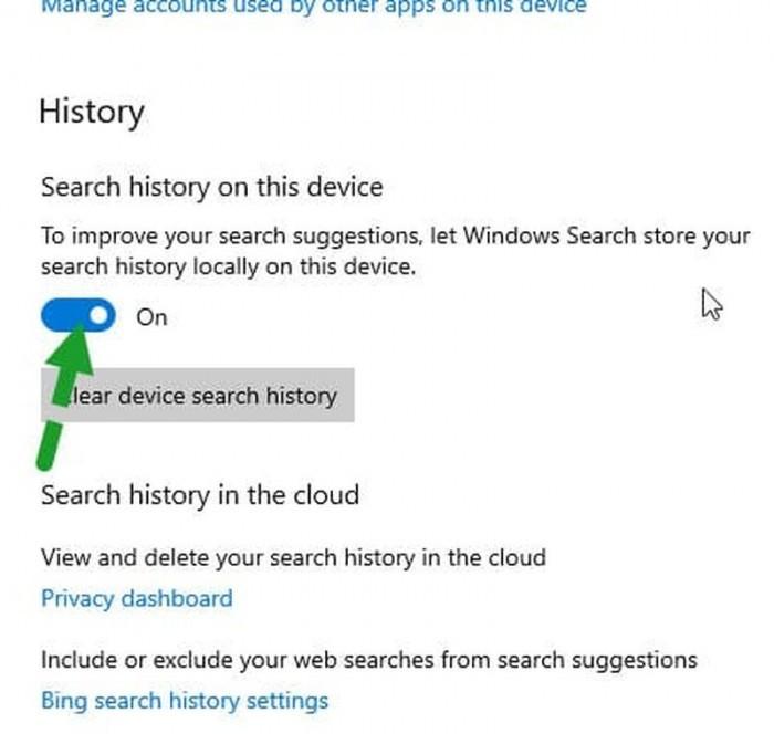 Windows Search搜索框现显示近期搜索内容的照片 - 2