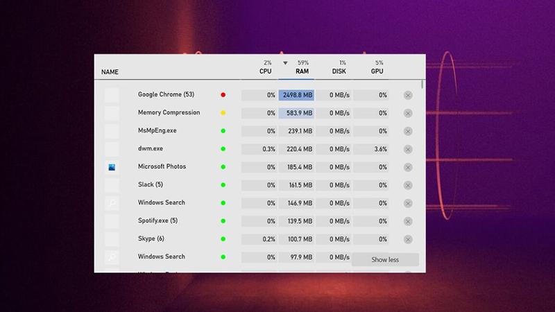 专为玩家优化的Win10任务管理器上线:不离开游戏管控进程的照片 - 1