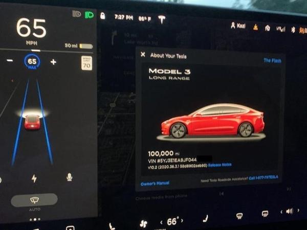 跑了16万公里的Model 3电池衰减多少?车主给出惊人答案的照片 - 2