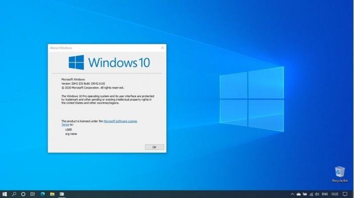 可选更新KB4580364发布:Win10升至Build 19042.610的照片 - 2