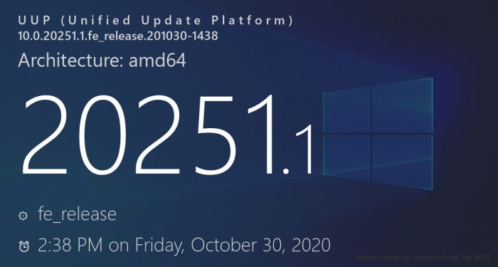 Win10 Build 20251发布:未引入任何新功能的照片 - 1