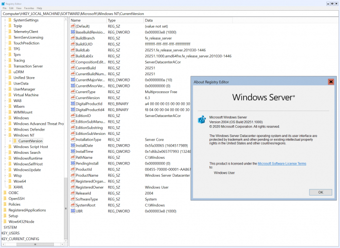 Win10 Build 20251发布:未引入任何新功能的照片 - 2