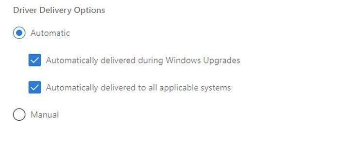 "Win10驱动更新调整:不再自动安装""手动""驱动更新的照片 - 3"