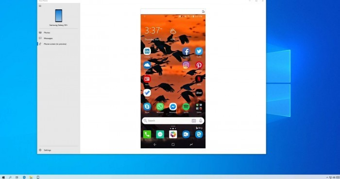 Win10 Your Phone功能仍为三星Galaxy独占的照片 - 2