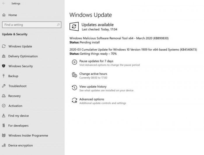 微软:Win10 v1903将于12月8日终止支持的照片 - 2