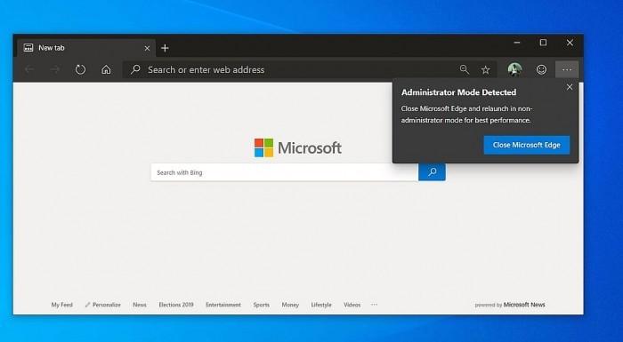 微软部署新措施:降低Edge和Chrome等浏览器的权限的照片 - 2