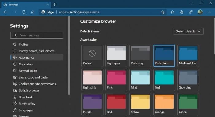 让用户打造全新外观 微软Edge推全新主题功能的照片 - 3