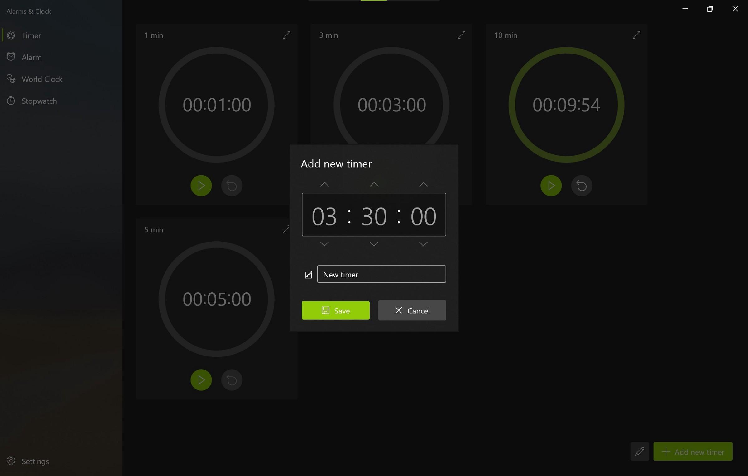 微软为Win10上的闹钟和时钟应用提供重大更新的照片 - 9