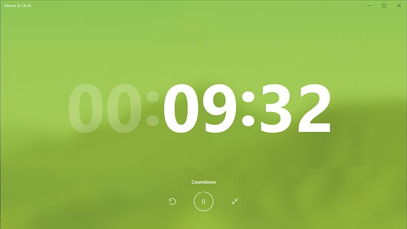 微软为Win10上的闹钟和时钟应用提供重大更新的照片 - 1