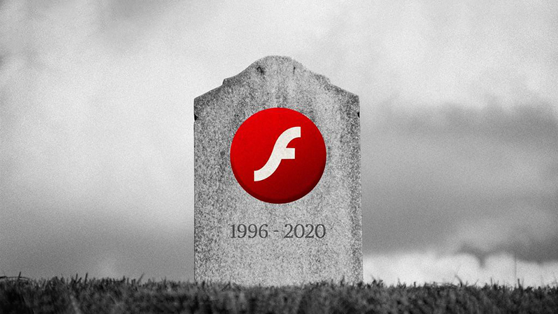 Win10的更新系统将在今年7月彻底删除Flash Player的照片 - 1