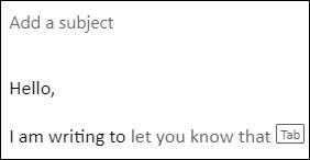 微软测试Outlook智能文本预测功能 帮助用户更快地撰写电子邮件的照片 - 2