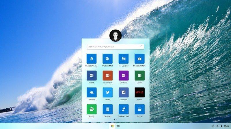 """Windows Core""""Polaris""""的一个老版本在网上泄露的照片 - 1"""
