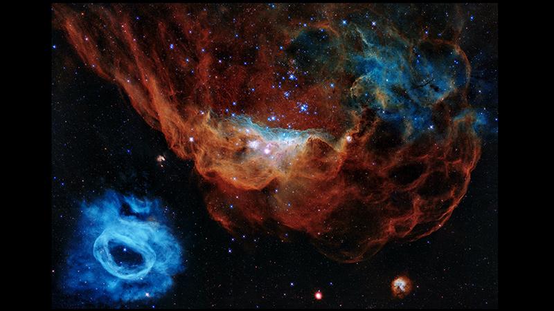 """2020年最佳太空图像:""""宇宙暗礁""""和太阳特写镜头"""