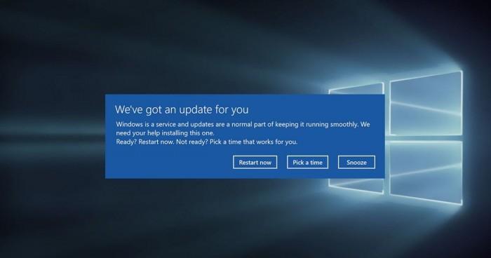 微软终于修复Win10随机重启问题的照片 - 1