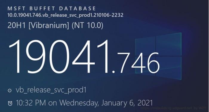 2021年首个补丁星期二到来 微软面向Win10发布累积更新的照片 - 1