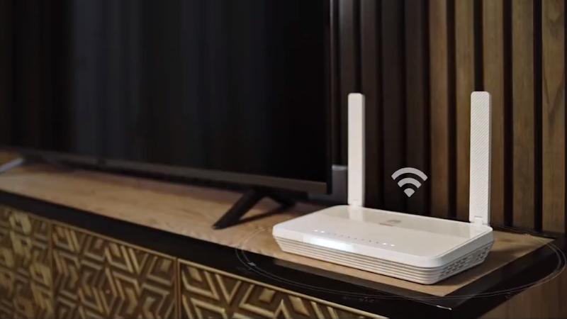 华为演示全光纤Wi-Fi:真千兆Wi-Fi6无损直达每个房间的照片 - 1