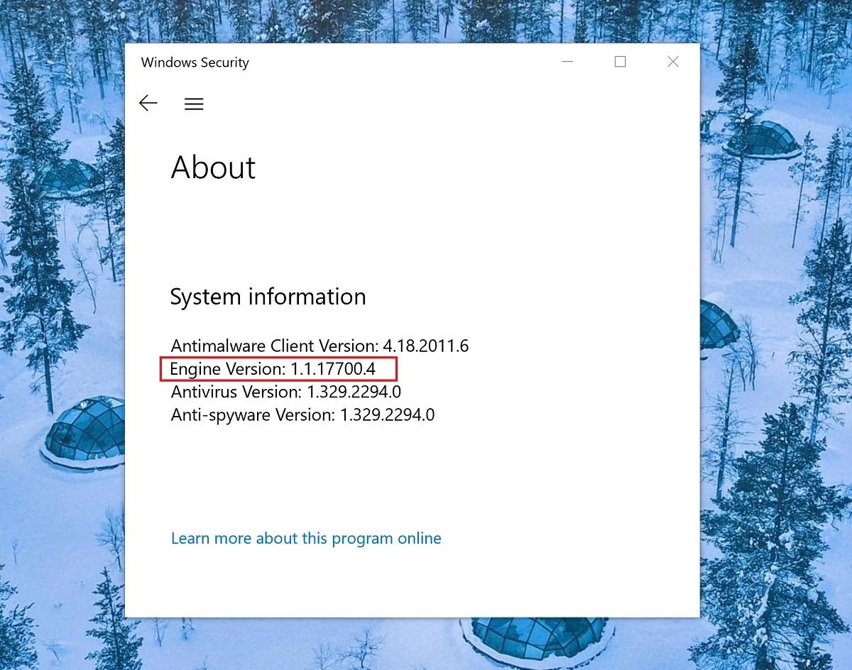 微软修复Windows Defender主动执行恶意软件的奇葩缺陷的照片 - 2