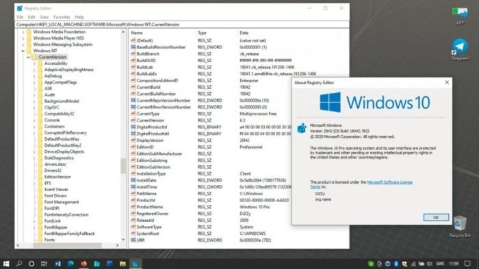 Win10 21H1功能更新即将发布 版本号锁定Build 19043的照片 - 2