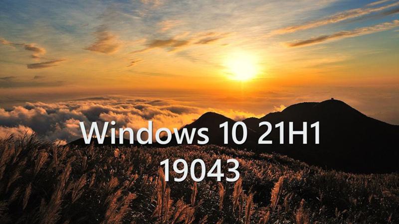 Win10 21H1功能更新即将发布 版本号锁定Build 19043的照片 - 1