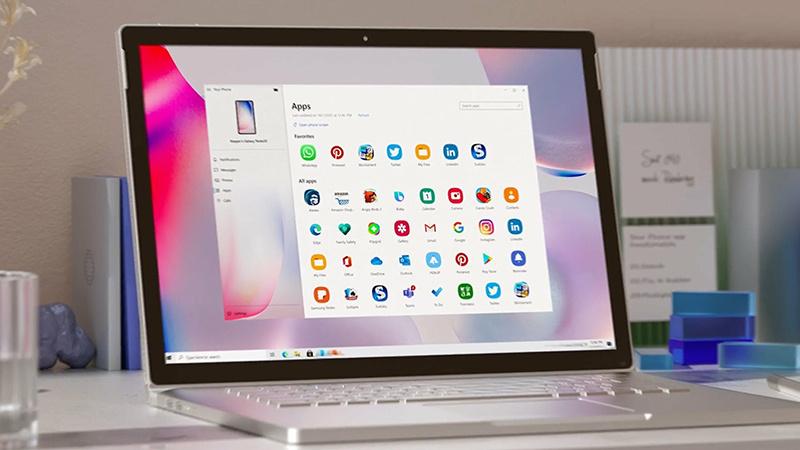 微软展示Win10与Android移动设备的更深度兼容体验的照片