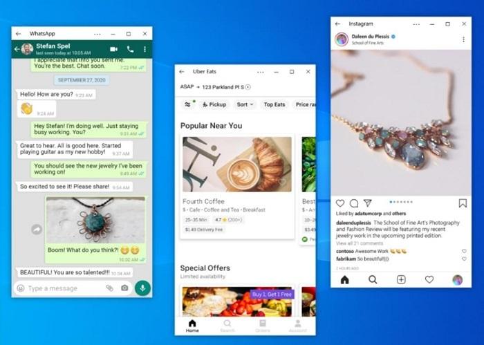 Your Phone更新:Win10可同时串流使用多个Android应用的照片 - 3